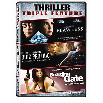 Import USA Flawless/Quid Pro Quo/Boarding Gate [DVD]