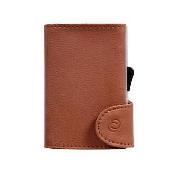 Woodland Leathers Tan Leather Wallet and C-Secure Cardprotector