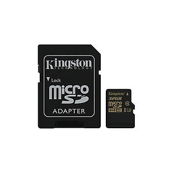 Kingston 32 GB MicroSDHC Class U3 UHS-I 90R/45W, SD adapter