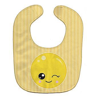 Carolines Treasures  BB8728BIB Winky Face Baby Bib