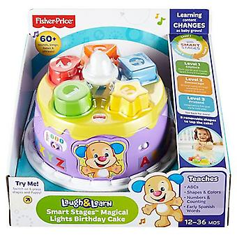Fisher-Price Laugh & Learn Smart Stages Magical Lights Birthday Cake