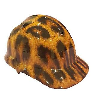 Leopard Themed Hard Hat