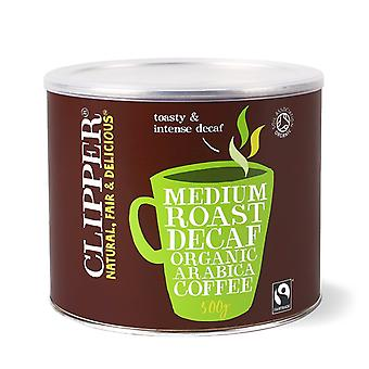 Clipper, Medium Roast Decaf Inst Coffee, 500g