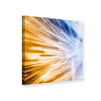 Canvas Print abstracte Galaxy