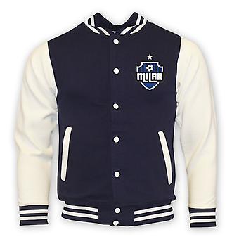 Inter Milán Colegio béisbol chaqueta (Armada) - niños