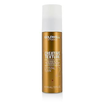 Goldwell estilo sinal textura criativa cristal Turn 2 alto-brilho Gel cera - 100ml/3,3 oz