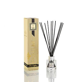 Natural Reed Diffuser - Long-lasting & Healthy - Beautiful Perfumes that Compliment You - Fragrances for 2 - 3 months (50 ml) - by PAIRFUM - Perfume: Innocent Vanilla - with Black Reeds
