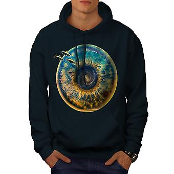 Being Spaceship Space Men NavyHoodie | Wellcoda