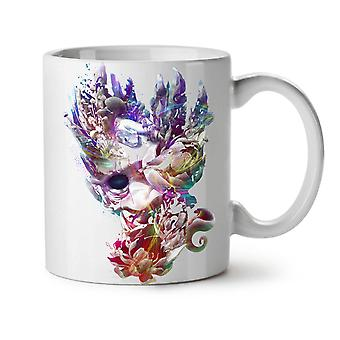 Art Face Mystic Fashion NEW White Tea Coffee Ceramic Mug 11 oz | Wellcoda