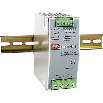 Rail mounted PSU (DIN) Mean Well DR-UPS40 24 Vdc 2 A
