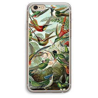 iPhone 6 プラス 6 s プラス透明ケース (ソフト) - ヘッケル Trochilidae