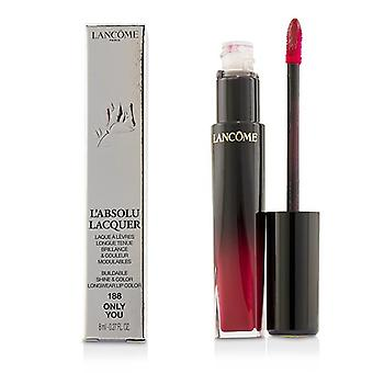 Lancome L'absolu Lacquer Buildable Shine & Color Longwear Lip Color - # 188 Only You - 8ml/0.27oz