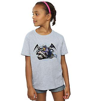 DC Comics jenter Batman TV serien Bat sykkel t-skjorte