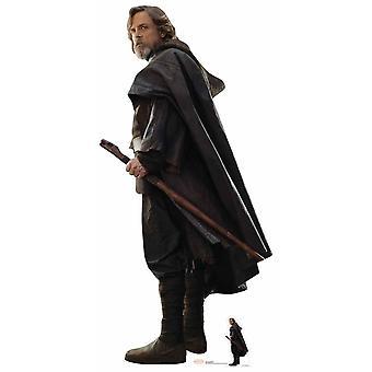 Luke Skywalker The Last Jedi Lifesize Cardboard Cutout