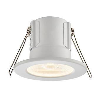 Saxby oświetlenie Tarcza eko 500 IP65 4W 3000K ściemniania LED Downlight w biały