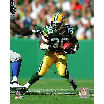 Ahman Green 2004 Action Photo Print