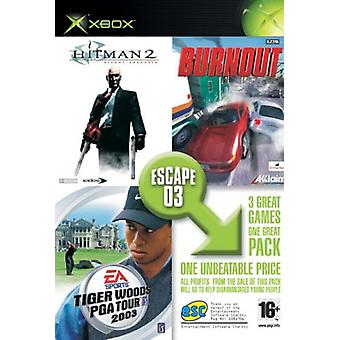 Escape Xbox Charity Pack Medal of Honor Frontline  Burnout  Hitman 2