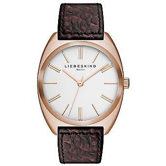 LIEBESKIND BERLIN Unisex Watch wristwatch leather LT-0009-LQ