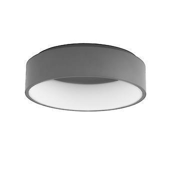 LED ceiling light Rasmus Ø 45 cm 27W 4000 K metal grey 10742