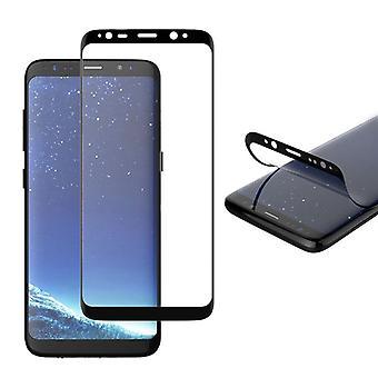Hybrid TPU premium curved tank foil foil black for Samsung Galaxy S9 plus G965F