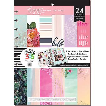 Create 365 Happy Memory Keeping Cardstock Pad 8.5