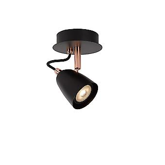 Lucide Ride Bistro LED Wall Light Copper