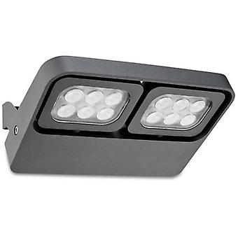 Wellindal Proyector April 12xLed Osram 11W Gris Urbano