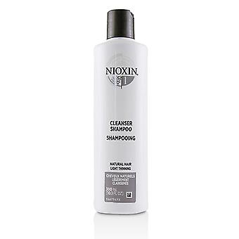 Nioxin Derma Purifying System 1 Cleanser Shampoo (Natural Hair Light Thinning) - 300ml/10.1oz
