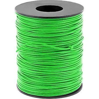Jumper wire 1 x 0.20 mm² Green BELI-BECO D 105/100 100 m