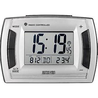 Eurochron RC 236 Radio Alarm clock Silver, Black allarme volte 2