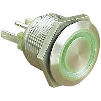 Bulgin MPI002/28/GN Tamper-proof pushbutton 24 Vdc 0.05 A 1 x Off/(On) IP66 momentary 1 pc(s)