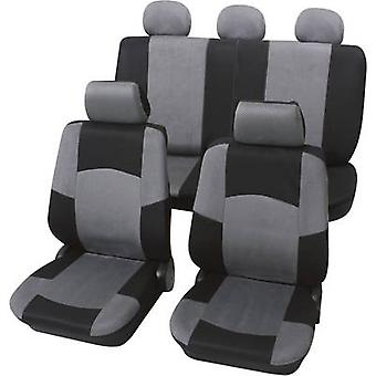 Petex Universal car seat cover set Black, Grey