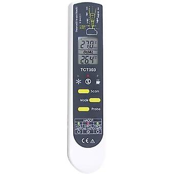 IR probe thermomenter (HACCP) TFA 31.1119.K Display (thermometer) 2:1 -55 up to +250 °C Non-contact IR reading Calibrate