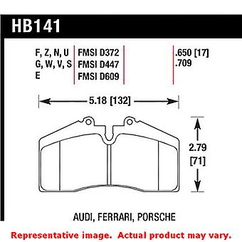 Hawk 'Performance Street' Brake Pads HB141Z.650 Fits:FERRARI 1995 - 1996 456 GT