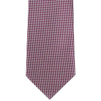 Michelsons London helle Puppytooth Polyester Krawatte - Pink