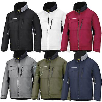 Snickers Winter Work Jacket- Rip-stop. Quilt Lined & Water Resistant - 1128
