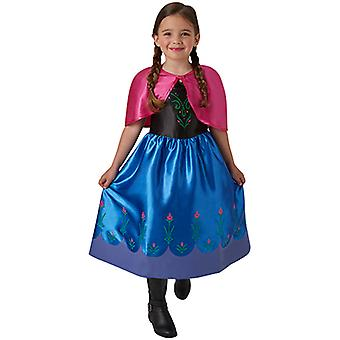 Анна, замороженные Классический платье костюм для детей, Анна и Эльза