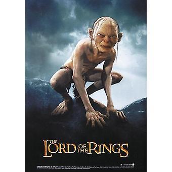 Herr der Ringe Poster Die zwei Türme Gollum