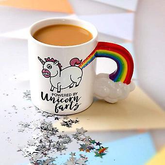 BigMouth Powered By Unicorn Farts Large Novelty Coffee Tea Mug Cup Gift