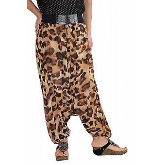 Waooh - Fashion - Sarouel printed leopard and belt