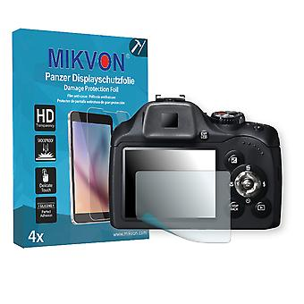 Fujifilm FinePix SL260 Screen Protector - Mikvon Armor Screen Protector (Retail Package with accessories)