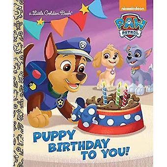 Puppy verjaring voor u! (Paw Patrol) (Gouden boekje)