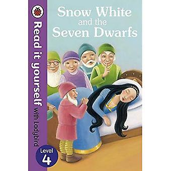 Sneeuwwitje en de zeven dwergen - Lees het zelf met lieveheersbeestje: niveau 4