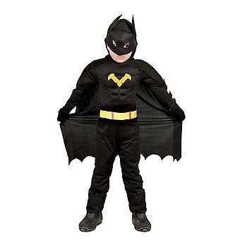 Jongens vleermuis superheld Fancy Dress kostuum