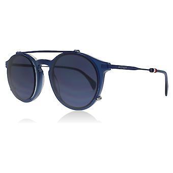 Tommy Hilfiger TH1471/C PJP blau TH1471/C Runde Sonnenbrille Objektiv Kategorie 3 Größe 50mm