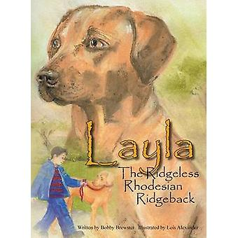 Layla de Ridgeless Rhodesian Ridgeback av Brewster & Bobby