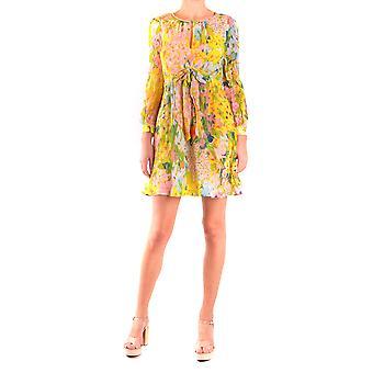 Moschino vestido viscosa Multicolor