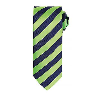 Premier Mens Club Stripe Pattern Formal Business Tie (Pack of 2)