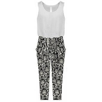 Combination tank united and floral pants Kenna