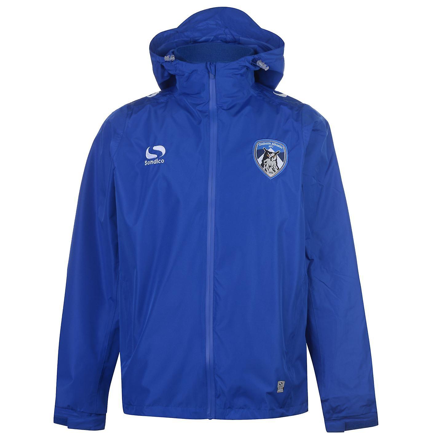 Sondico Pour des hommes Oldham Athletic Rain veste 2018 2019 Top